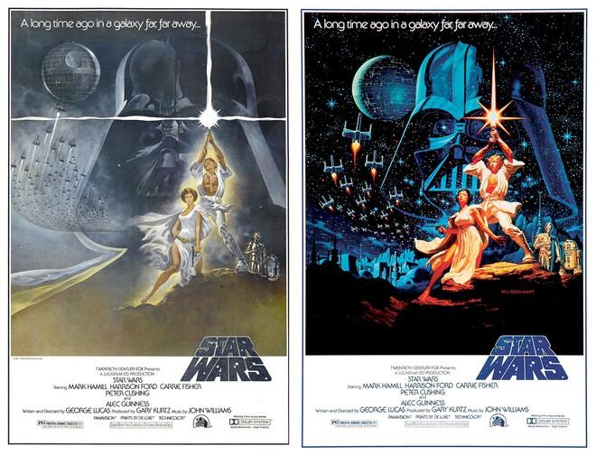 OBR: Plakát Star Wars od bratrů Hildebrandtových s původním dílem Toma Junga