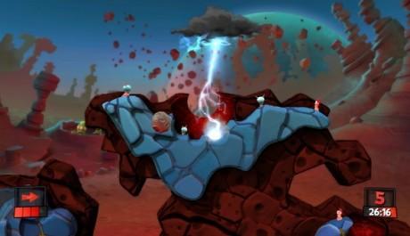 FOTO: Worms Revolution DLC Mars