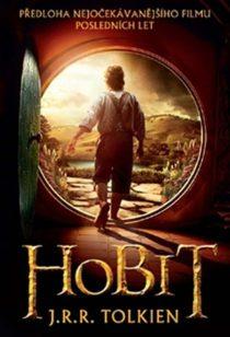 Hobit J. R. R. Tolkien (obálka knihy)