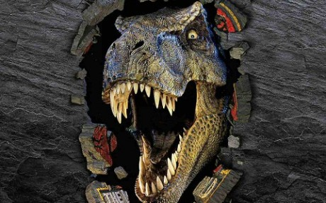 T-Rexe tentokrát uvidíme ve třetím rozměru. Zdroj: Universal Pictures