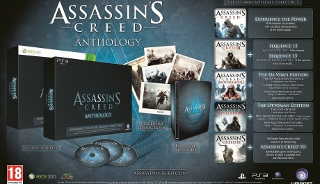 FOTO: Assassin´s Creed Anthology Edition