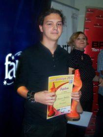 FOTO: Martin Hatala, vítěz Ceny Fantázie 2012