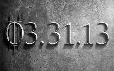 OBR: Hra o trůny - 3. série - teaser plakát