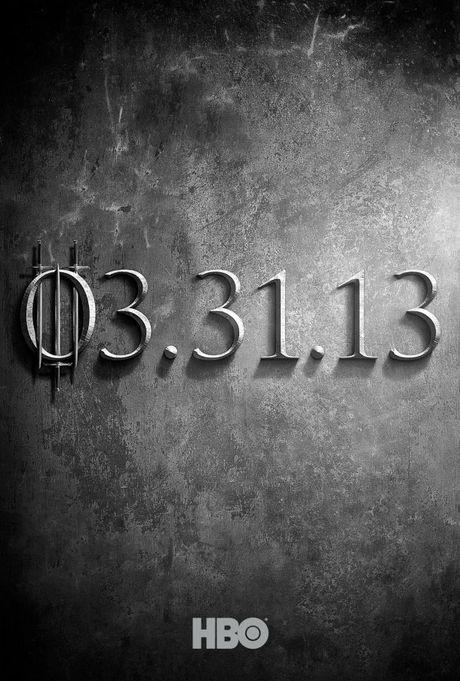 FOTO: Hry o trůny - třetí série - teaser plakát