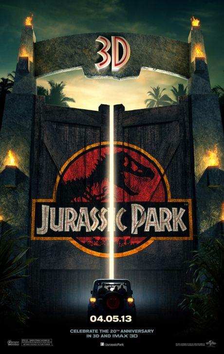 FOTO: Jurský park 3D - plakát