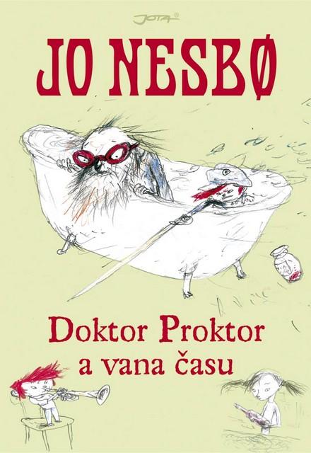 OBR: Doktor Proktor a vana času - přebal knihy