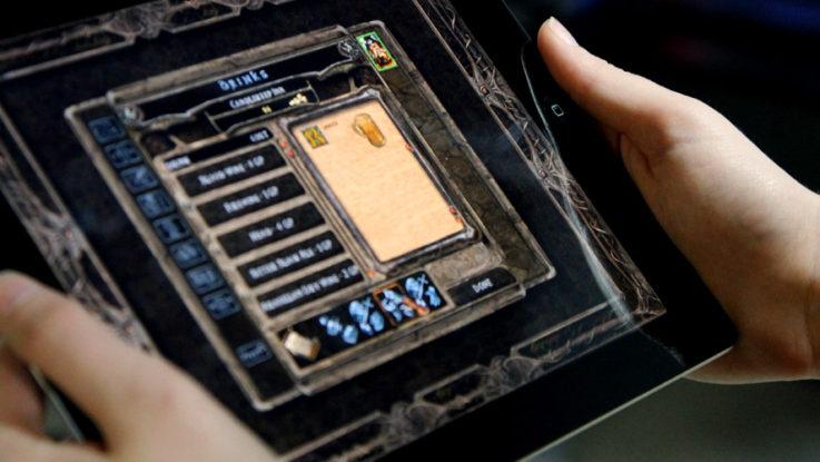 OBR: Baldurs gate na iPadu