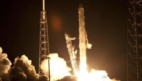 FOTO: Raketa SpaceX