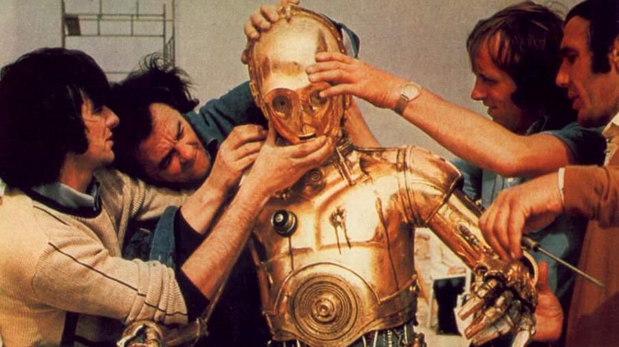 FOTO: Fotka z natáčení Star Wars