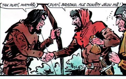 OBR: Komiks Tvrz - Václav Šorel