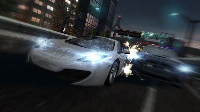 FOTO: NFS: Most Wanted na iOS