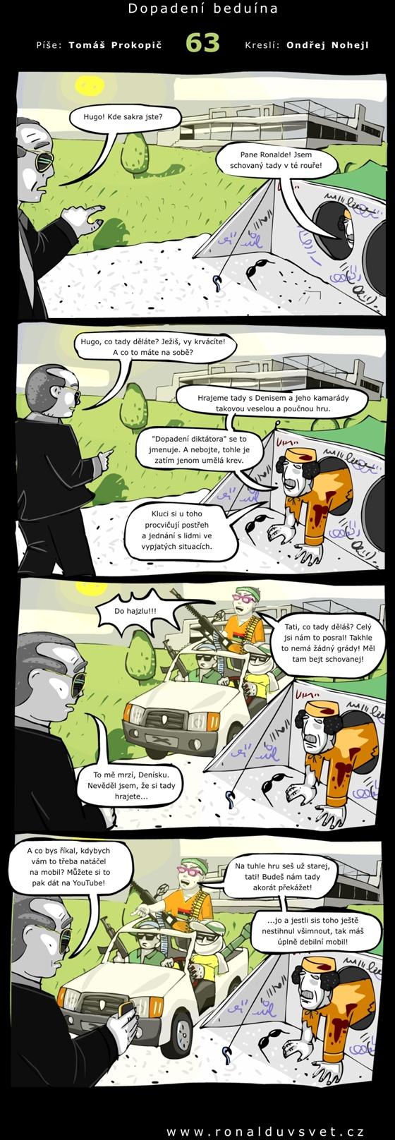 OBR: Ronaldův svět 63 - Dopadení beduína