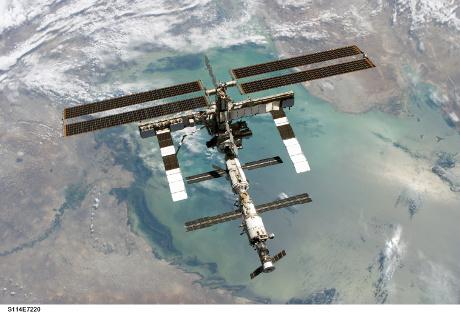 FOTO: Mezinárodní kosmická stanice ISS