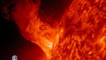 FOTO: Erupce na Slunci