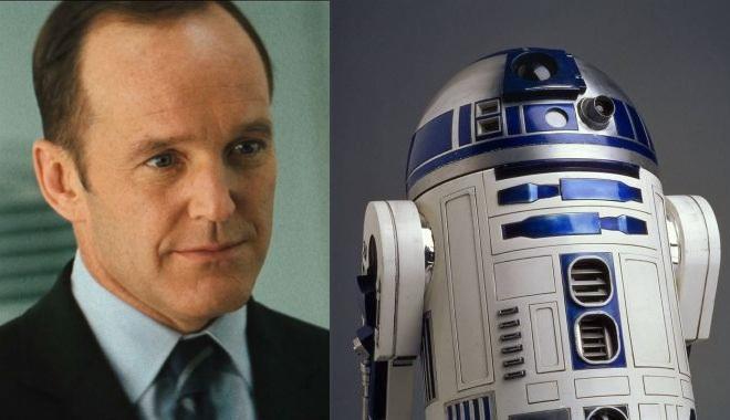 FOTO: Phil Coulson a R2-D2