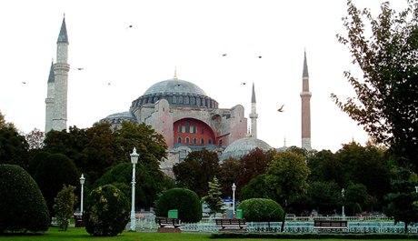 Turecké komunitě vadí podoba s mešitou Hagia Sofia. Zdroj: sxc.hu