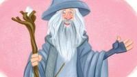 Hobit pro nejmenší - Gandalf (priorita)