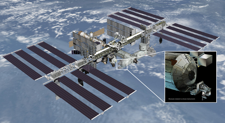 FOTO: Družice ISS Rapid-Scat