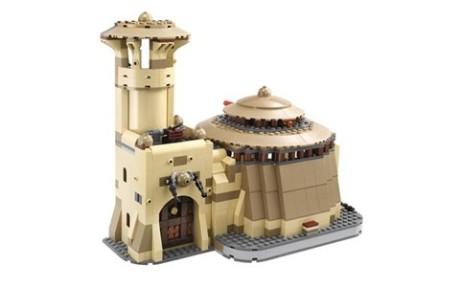 Problém nastal kvůli modelu Jabbova paláce. Zdroj: legostarwars.wikia.com