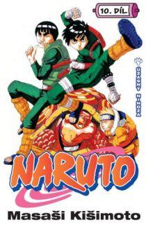 obálka Masaši Kišimoto: Naruto #10