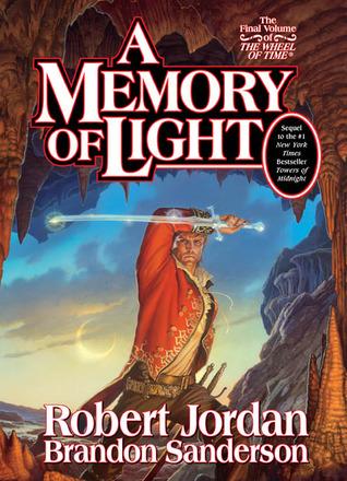 obálka R. Jordan a B. Sanderson: A Memory of Light (EN)