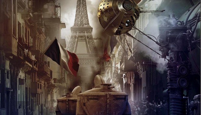 Kniha Roda Reese potěší fanoušky steampunku i dystopie. Zdroj: výřez z francouzské obálky