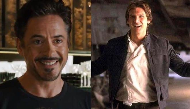 FOTO: Iron Man a Han Solo
