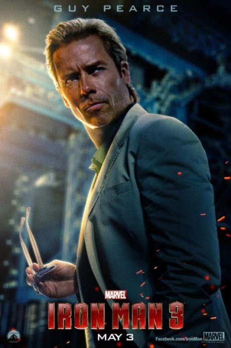 Guy Pearce v novém Iron Manovi 3, Zdroj: empireonline.com