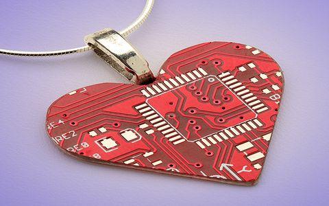 FOTO: Valentýnské srdce - Náhrdelník