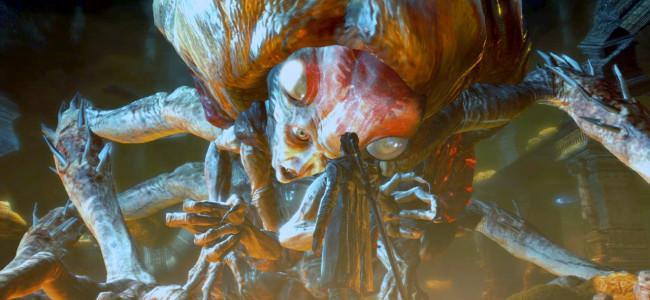 Souboje s bossy jsou tradiční součástí Devil May Cry. Zdroj: Screenshot ze hry