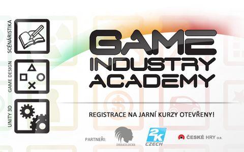 Game Industry Academy nabízí kvalitní program. Zdroj: tisková zpráva