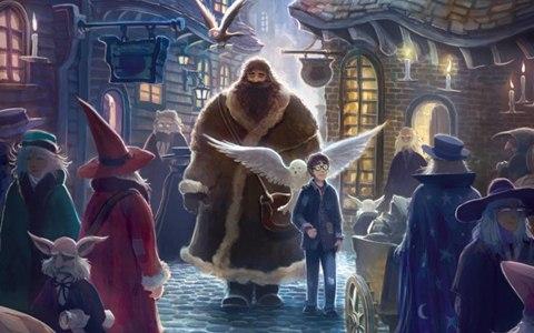 J. K. Rowlingá: Harry Potter a kámen mudrců (ilustrační)