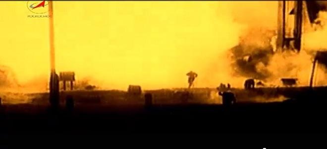FOTO: Výbuch rakety R-16 při Nědělinově katastrofě