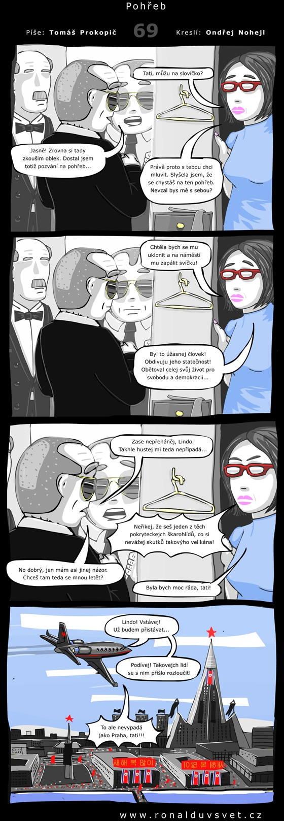 OBR: Ronaldův svět 69: Pohřeb