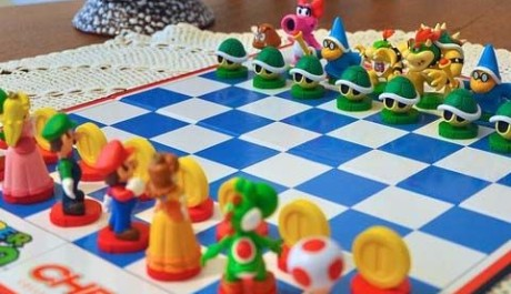 OBR.: Super Mario Chess Board