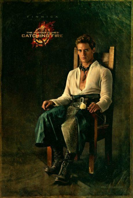 Finnick v kostýmu z nových Hunger Games. Zdroj: Universal Pictures
