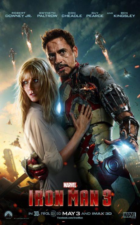 Robert Downey Jr. a Gwyneth Paltrow uprostřed bitevní vřavy. Zdroj: Marvel