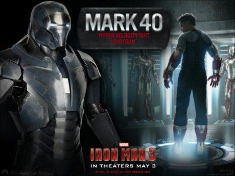 Elegantní stříbrný Mark 50. Zdroj: Marvel
