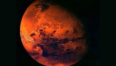 """Přezdívku """"Rudá planeta"""" nedostal Mars náhodou.Zdroj: NASA.gov"""