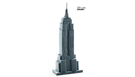 FOTO: 3d tisk Empire State Building