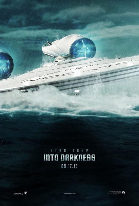 Naučí se Enterprise mimo létání i plavat? Zdroj: Paramount Pictures
