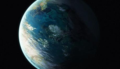 Hypotetická planeta s tekutou vodou. Autor: rich35211.deviantart.com