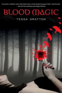 Magie krve - přebal knihy