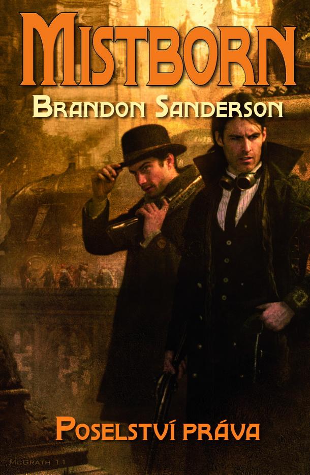obálka Brandon Sanderson: Posleství práva