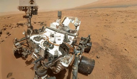 FOTO: Sonda Curiosity na Marsu