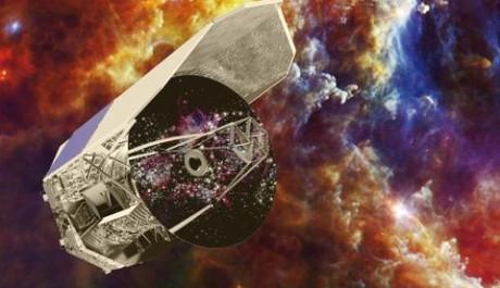 Umělecké vyobrazení teleskopu. Zdroj: ESA – C. Carreau, NASA.gov
