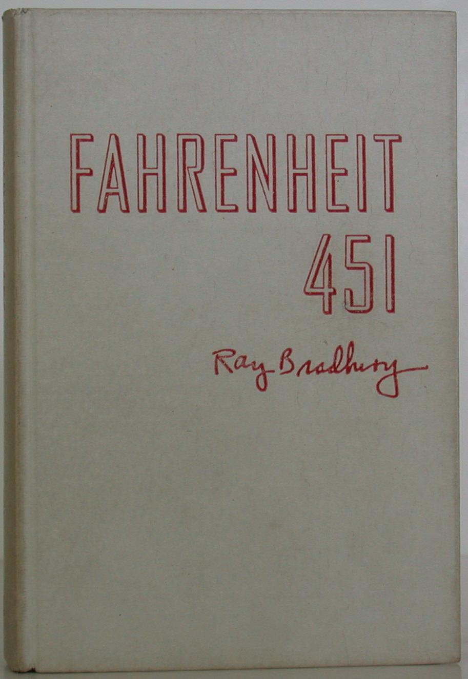 kniha 451 stupňů Fahrenheita z azbestu
