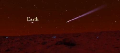 FOTO: Kometa u Marsu