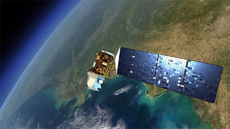 FOTO: Satelit Landsat 8