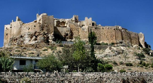 Takto vypadá asasínská pevnost Masyaf dnes Zdroj: wikimedia commons